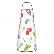 Bountiful By Sheila Marie Delgado Printed Cute Aprons for with , Aprons for the Kitchen, Cotton Apron for Cooking Baking BBQ Restaurant,28x20 inch,applicable restaurants 52cm x 72cm