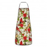 Christmas In The Wildwood Flowers And Bird Cute Aprons for with , Aprons for the Kitchen, Cotton Apron for Cooking Baking BBQ Restaurant,28x20 inch,applicable florists 52cm x 72cm