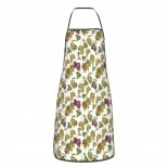 Raisins Watercolor Cute Aprons for with , Aprons for the Kitchen, Cotton Apron for Cooking Baking BBQ Restaurant,28x20 inch,applicable restaurants 52cm x 72cm