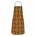 Pizza Cute Pattern Cute Aprons for with , Aprons for the Kitchen, Cotton Apron for Cooking Baking BBQ Restaurant,28x20 inch,applicable hotels 52cm x 72cm