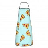 Pizza Cartoon Pattern Cute Aprons for with , Aprons for the Kitchen, Cotton Apron for Cooking Baking BBQ Restaurant,28x20 inch,applicable kitchens 52cm x 72cm