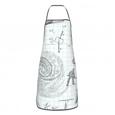 Physics Principle Calculus Cute Aprons for with , Aprons for the Kitchen, Cotton Apron for Cooking Baking BBQ Restaurant,28x20 inch,applicable kitchens 52cm x 72cm
