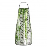 Birch Trees Cute Aprons for with , Aprons for the Kitchen, Cotton Apron for Cooking Baking BBQ Restaurant,28x20 inch,applicable kitchens 52cm x 72cm