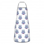 Cute Hippo Face02 Cute Aprons for with , Aprons for the Kitchen, Cotton Apron for Cooking Baking BBQ Restaurant,28x20 inch,applicable restaurants 52cm x 72cm