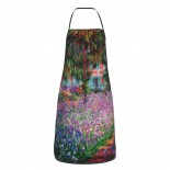 Garden Nature Flowers Trees Oil Painting Cute Aprons for with , Aprons for the Kitchen, Cotton Apron for Cooking Baking BBQ Restaurant,28x20 inch,applicable Supermarkets 52cm x 72cm