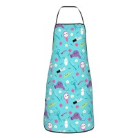 Happy Hair Stylist Friends Cute Aprons for with , Aprons for the Kitchen, Cotton Apron for Cooking Baking BBQ Restaurant,28x20 inch,applicable hotels 52cm x 72cm