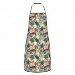 Indian Elephants Pineapples Buddha Cute Aprons for with , Aprons for the Kitchen, Cotton Apron for Cooking Baking BBQ Restaurant,28x20 inch,applicable beverage shops 52cm x 72cm