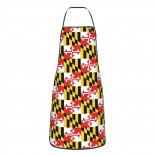 Maryland Flag Cute Aprons for with , Aprons for the Kitchen, Cotton Apron for Cooking Baking BBQ Restaurant,28x20 inch,applicable beverage shops 52cm x 72cm