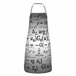 Mathematical Formula Cute Aprons for with , Aprons for the Kitchen, Cotton Apron for Cooking Baking BBQ Restaurant,28x20 inch,applicable kitchens 52cm x 72cm